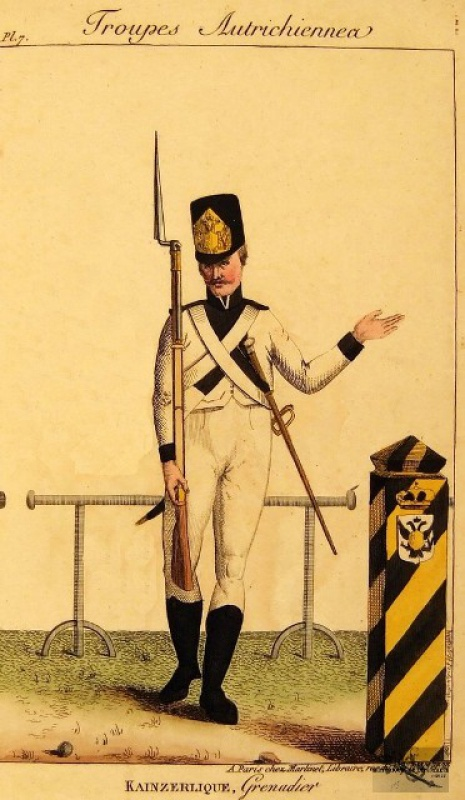 grenadier autrichien  640465ico2046