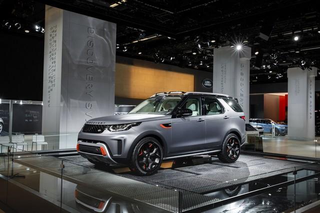 Nouveau Discovery SVX : Land Rover dévoile son champion tout-terrain au Salon de Francfort 640737jlrfrankfurt2017037