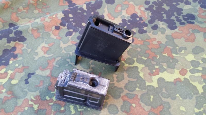 TRANSFORMATION embase DRUMBOX ELEC  M4 pour  G36 C ou  MG36 K 64160020150412191346