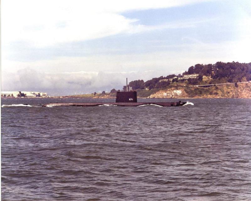 SOUS MARIN NUCLEAIRE D'ATTAQUE USS NAUTILUS 642597USSNautilus1981