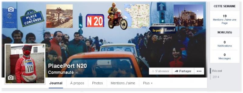 Retrospective descente ancienne nationale 20 Paris Dakar 28 décembre 2016 - Page 2 644620pagefacebookplaceportn20