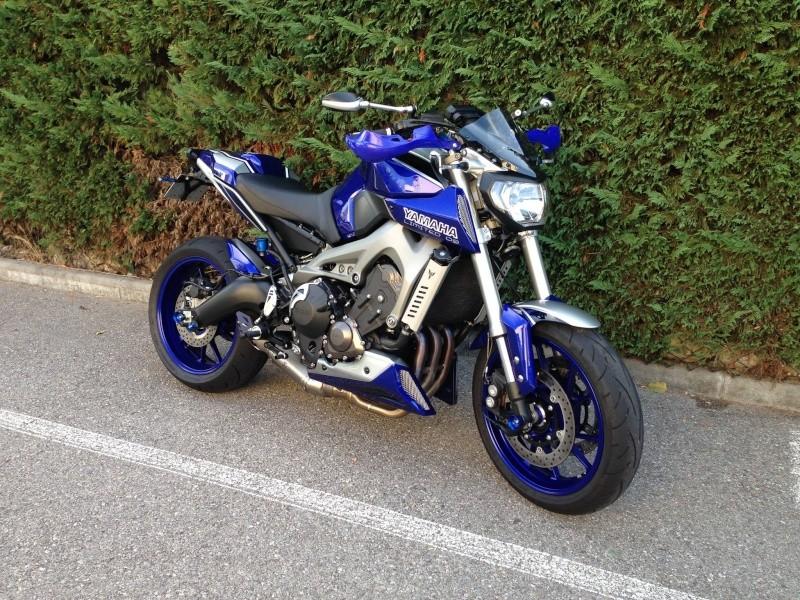 Photos de toutes les Yamaha MT-09 du forum ! :) 645594YSevy
