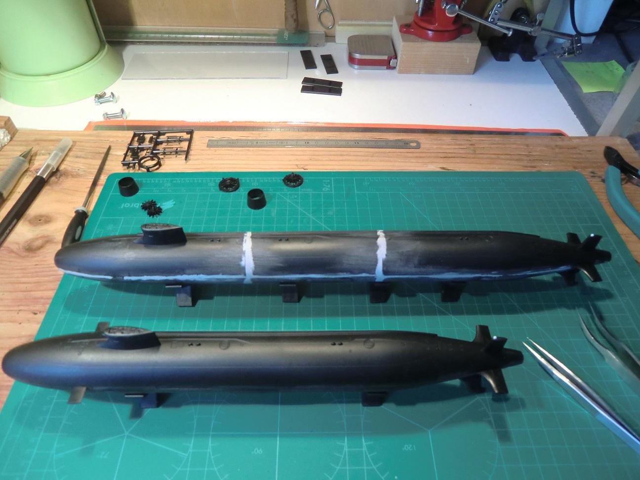 SSN 21 ET SSN 23 Seawolf Class 1/350 649303Seawolf8