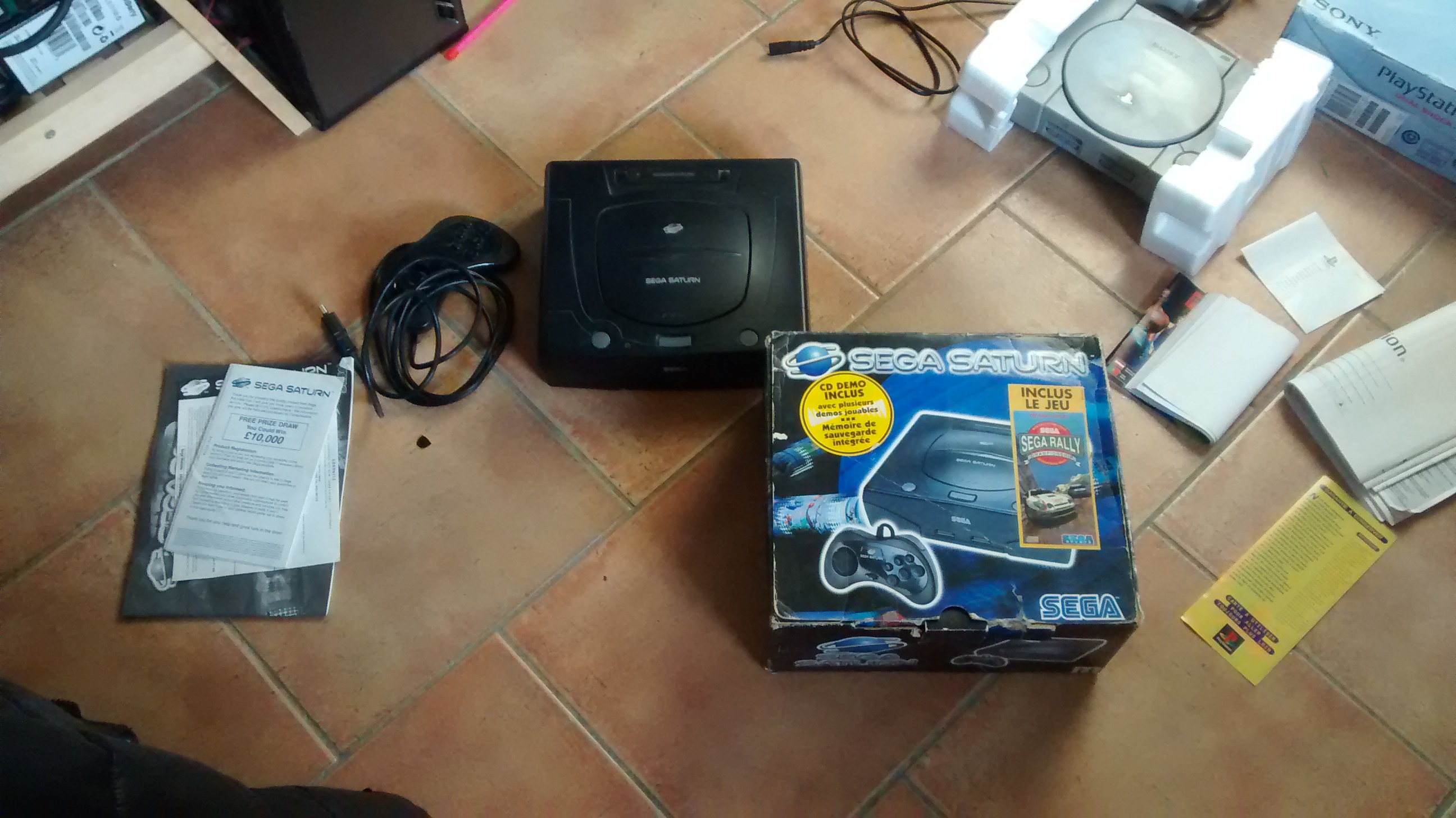[Vds] Lot Dreamcast - MS/MD et Saturn Update 18/01 ajout Jeux Sat Jap 649492IMG20160123164550447