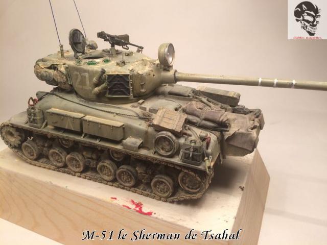 M-51 Super Sherman IDF - Academy 1/35 650294IMG4922Copie