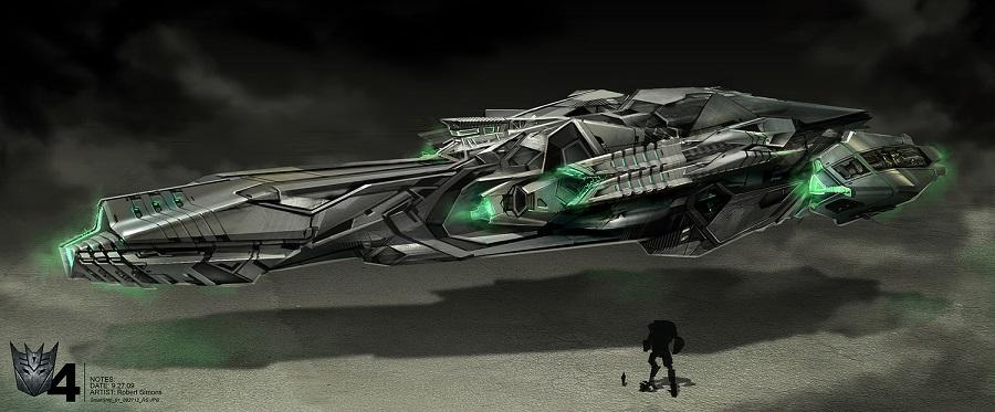 Concept Art des Transformers dans les Films Transformers - Page 3 654343LockdownShip41403881670nightship