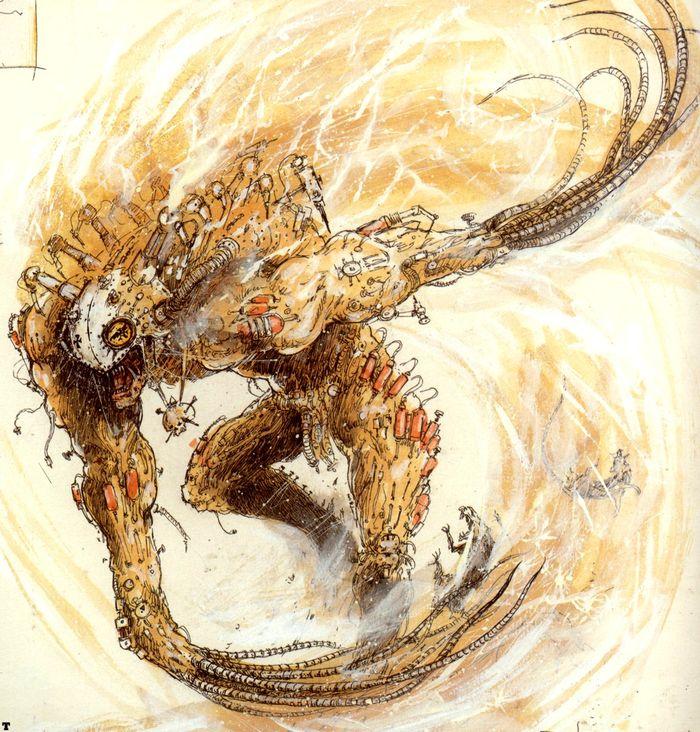 La Volonté de l'Empereur de John Blanche (Art Book) - Page 2 654356Blanche11
