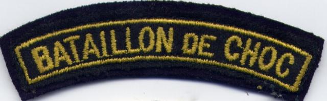 LES INSIGNES DU BATAILLON DE CHOC 1943/1963. 655180File0004