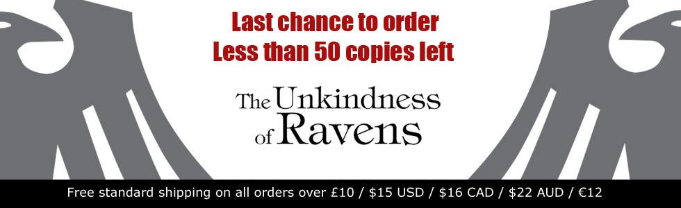 The Unkindness of Ravens de George Mann - Page 2 655374ravenssoldout50