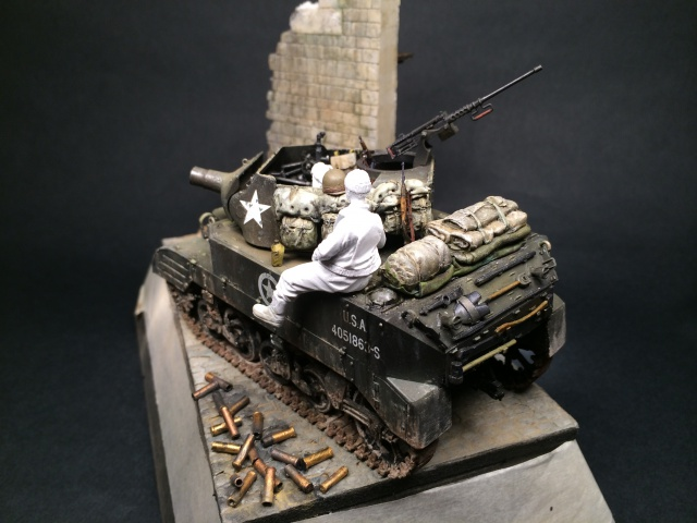 """""""Le laxatif"""" - M8 Howitzer unité """"Hell on Wheels"""" - 2nd Armored division, Normandie - Tamiya 1/35 657109IMG3479"""