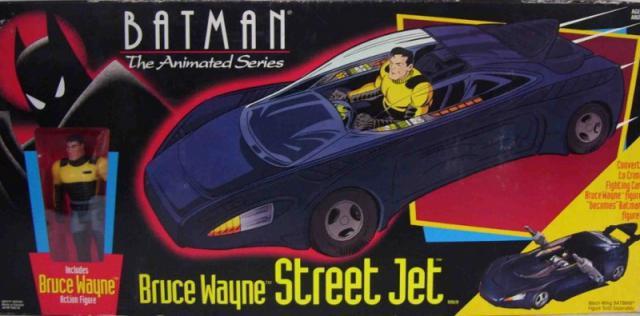 Produits dérivés SPECIAL SERIE ANIMEE 1992 658480800pxBruceWayneStreetJetCarton