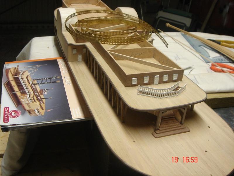 Bateau vapeur Robert E. Lee 1866 (Constructo 1/48°°) de Henri 658923DSC06737