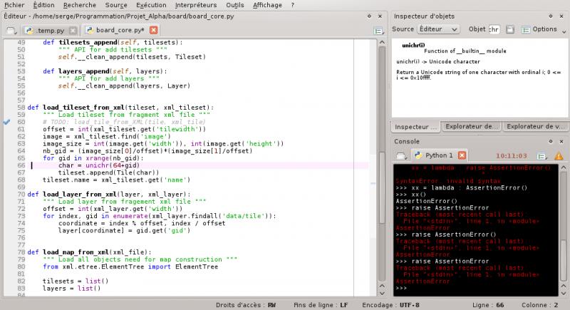 [Python]Spyder, le super éditeur de code, et aide au debug 659520debuggagespyder1