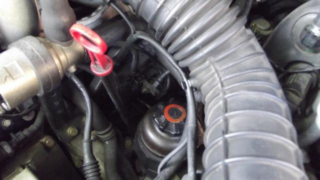 [BMW 316 i E36] Réparation d'une fuite d'essence moteur 65985119bisSuppotcblesurbusedadmissiondair