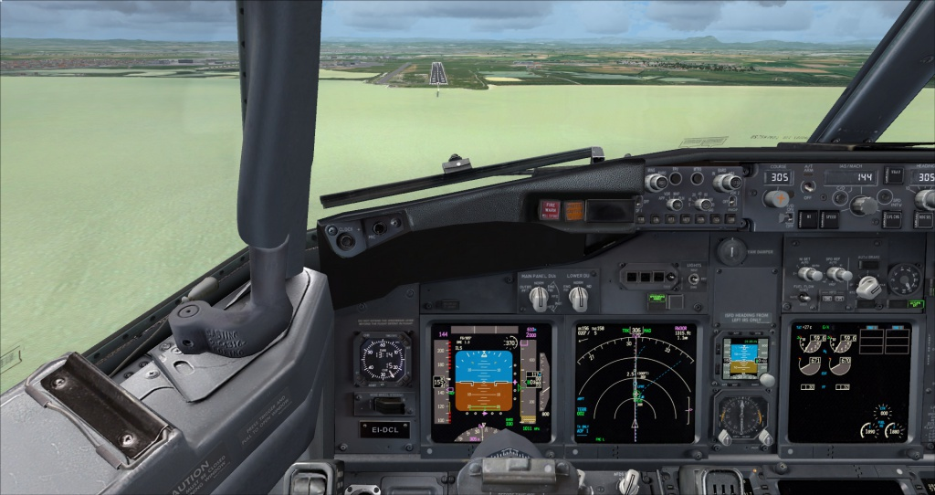 [FSX] Ryanair B737NG sur Montpellier 6607712014617195837321