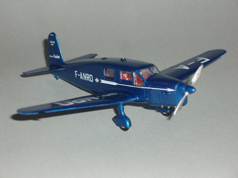 CAUDRON C-635 Simoun  (version Air Bleu). 1936  Heller 1/72. 660780cs35