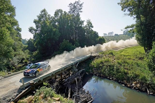 Rallye d'Australie Jour 2 : deux secondes d'écart entre les leaders Mikkelsen et Ogier  662442hd022016wrc13dr30051