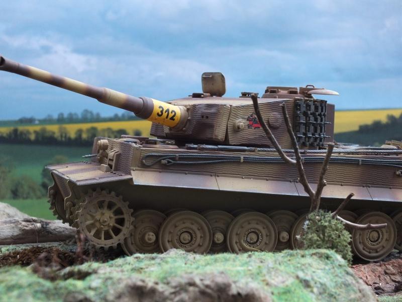 Tiger I Late version ,tamiya 1/35 (début de patine) - Page 3 662468DSCF6415