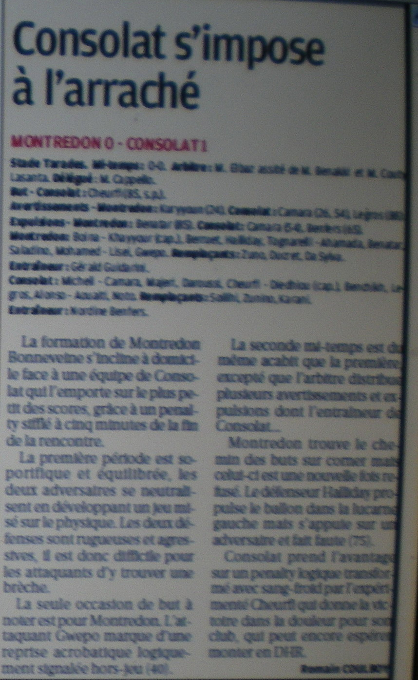 SC MONTREDON-BONNEVEINE - Page 3 662477IMGP7205