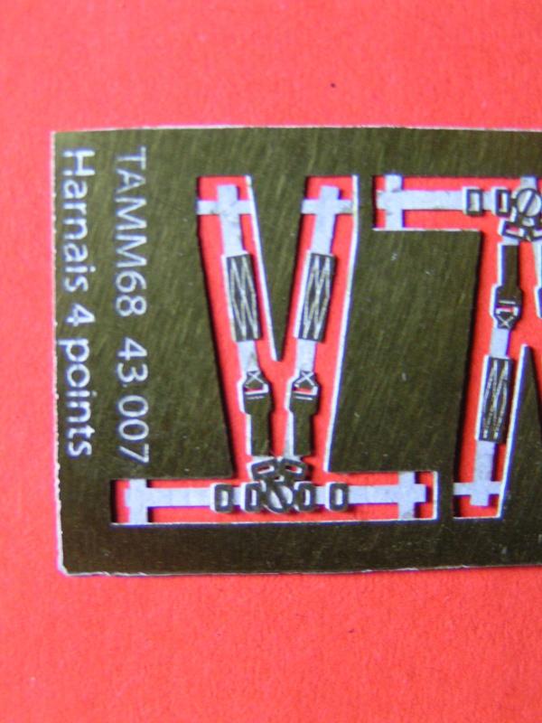 Nouvelles photodécoupes TAMM68 663150Harnais4points1