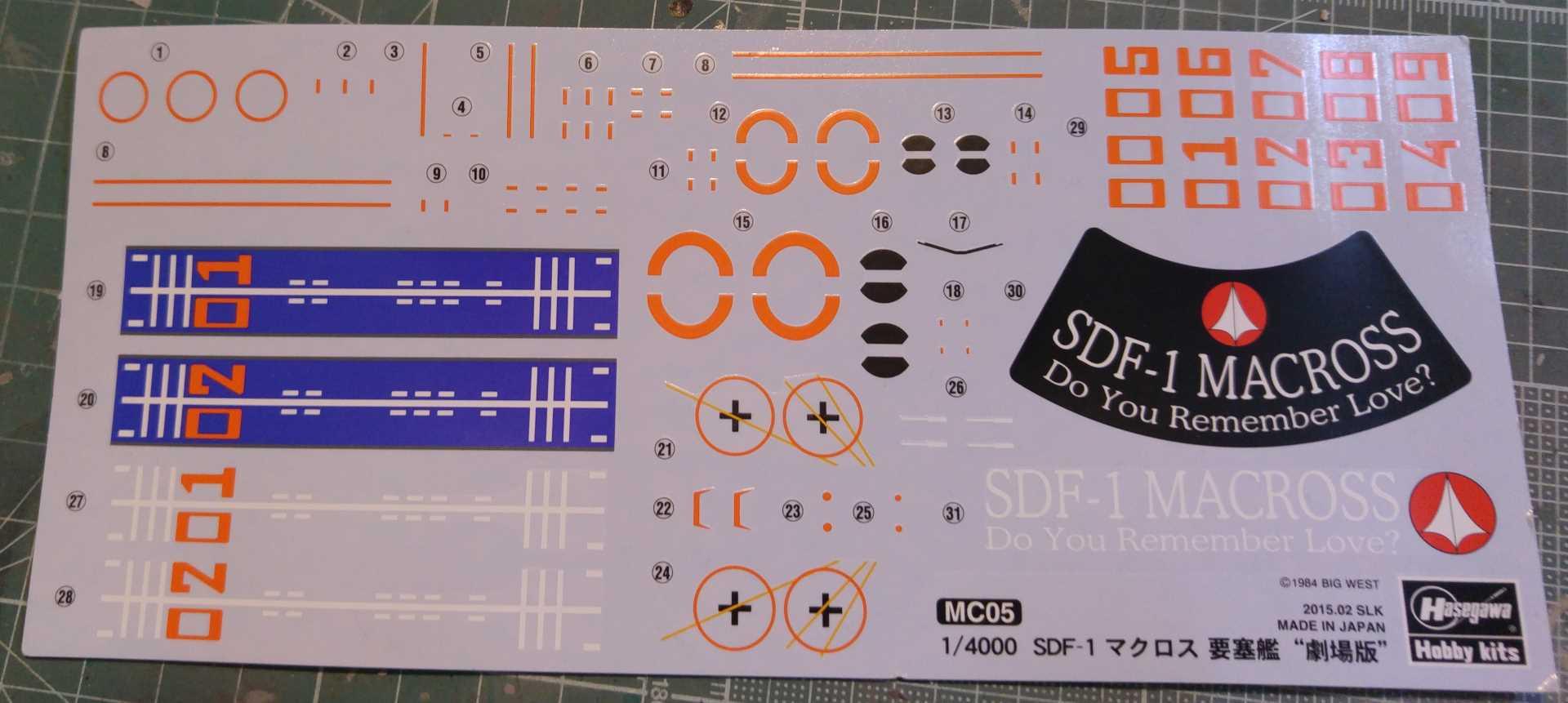 SDF-1 MACROSS Movie Edition 666661SDF1DYRL36