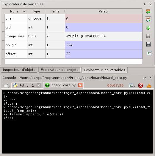 [Python]Spyder, le super éditeur de code, et aide au debug 668580debuggagespyder4