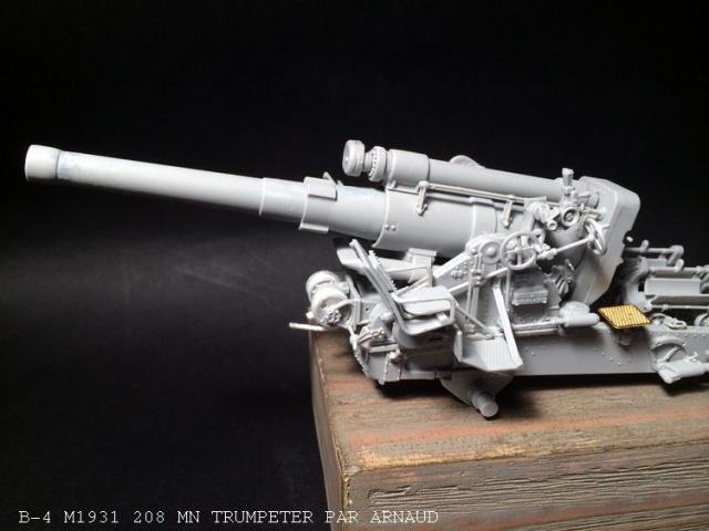 un B-4 M1931 203 mn (le marteau de Staline trumpeter 1/35 669151B4001
