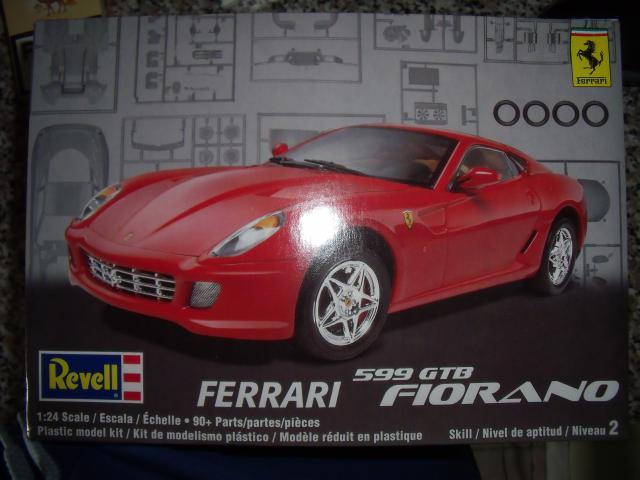 Ferrari 599GTB Fiorano. Revell. 669998boitefef004