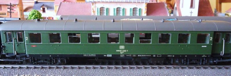 Roco ho: voitures de la DB pour train express 670593DSC03553