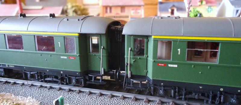 Roco ho: voitures de la DB pour train express 670662DSC03569
