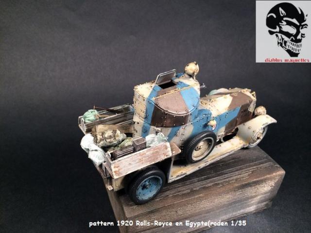 Pattern 1920 Rolls-Royce MK1 en Egypte - (Roden 1/35) 671452peinturePattern005