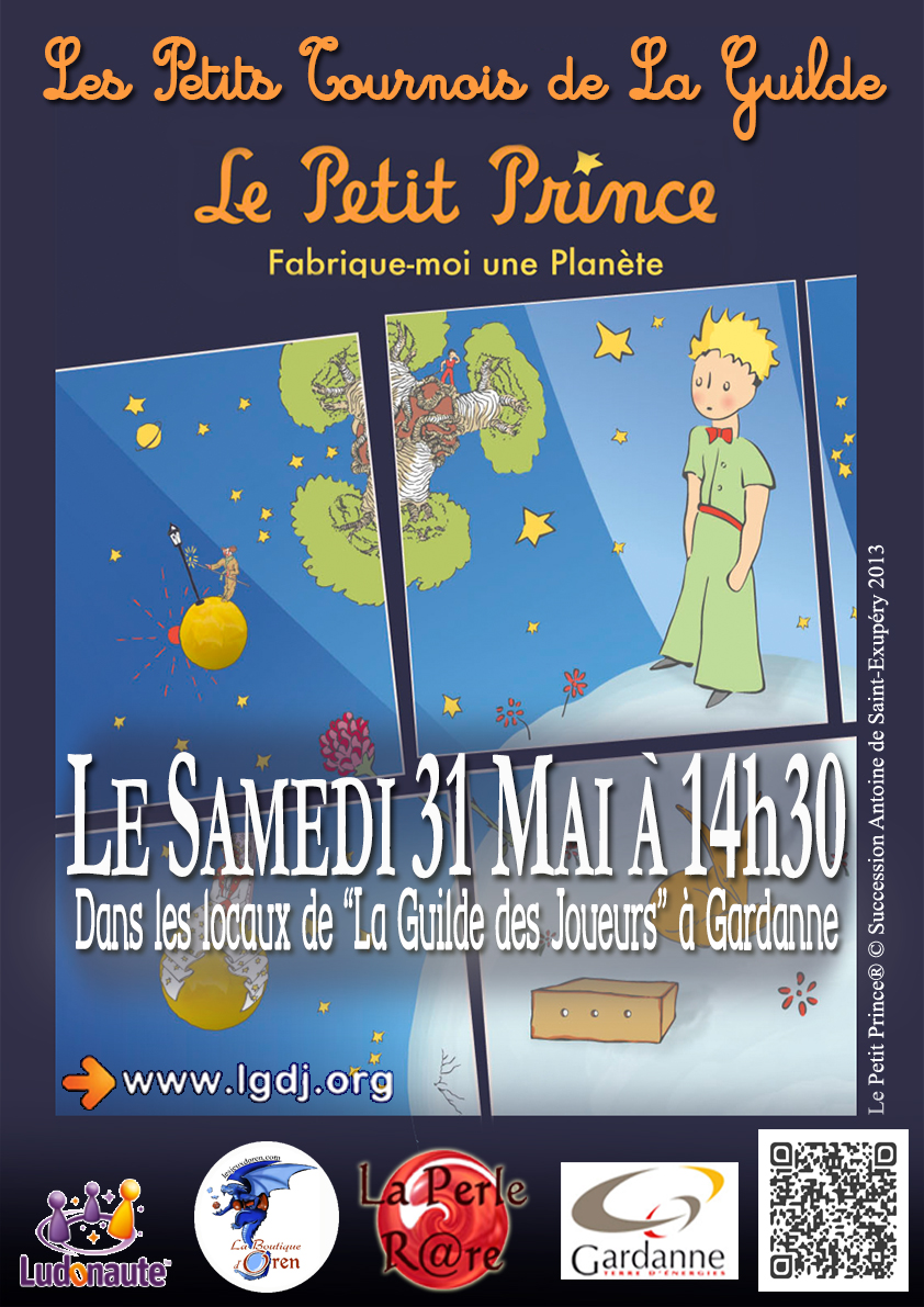 Les Petits Tournois de la Guilde : Le Petit Prince - 31 mai 672448PetitprinceAffiche