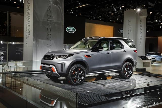 Nouveau Discovery SVX : Land Rover dévoile son champion tout-terrain au Salon de Francfort 672721jlrfrankfurt2017028