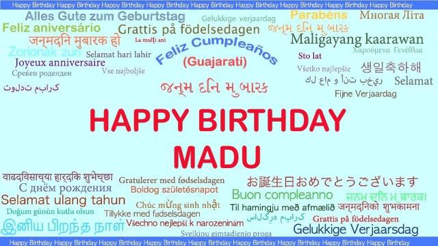 Joyeux anniversaire Madu 673994601