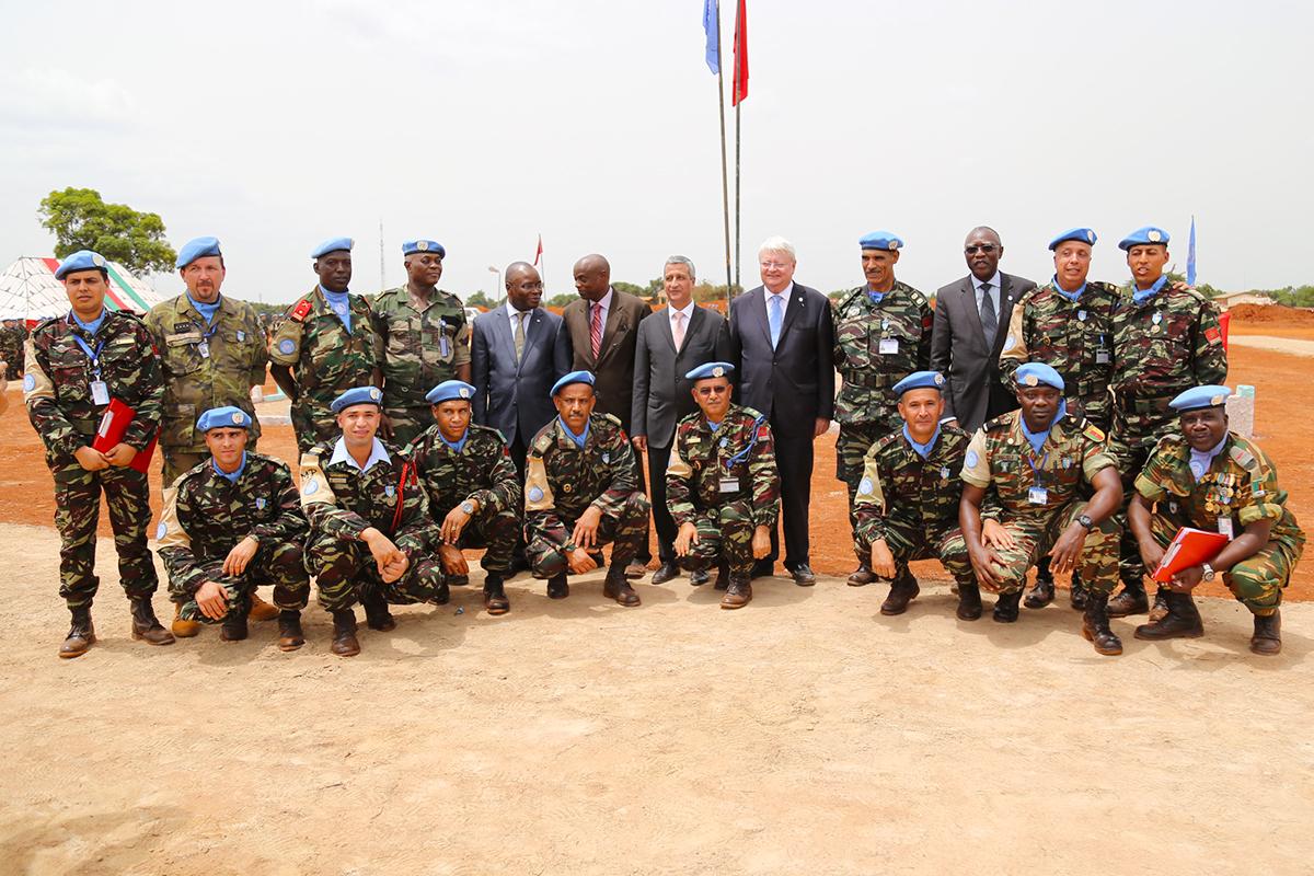 Maintien de la paix dans le monde - Les FAR en République Centrafricaine - RCA (MINUSCA) - Page 2 674367170801335178011086889o