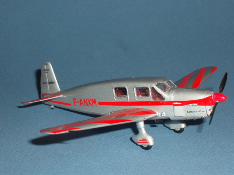 CAUDRON C-635 Simoun  (version Raid Paris-Tokyo). 1937  Heller 1/72. 674866caudronraid031