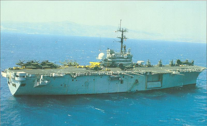 BÂTIMENTS DE PROJECTION ET DE COMMANDEMENT CLASSE MISTRAL 675117USS_Guam