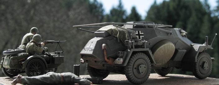 sd kfz 223 Hobbyboss 1/35 676355modles112027