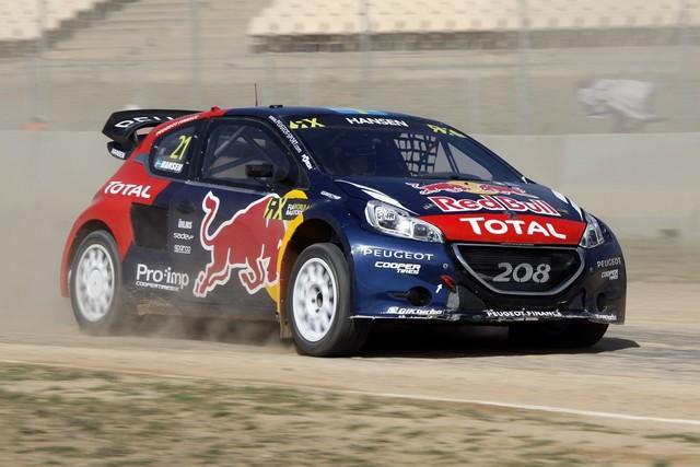 Le Team Peugeot Hansen creuse l'écart à Barcelone 6767912015RXBarcelona127