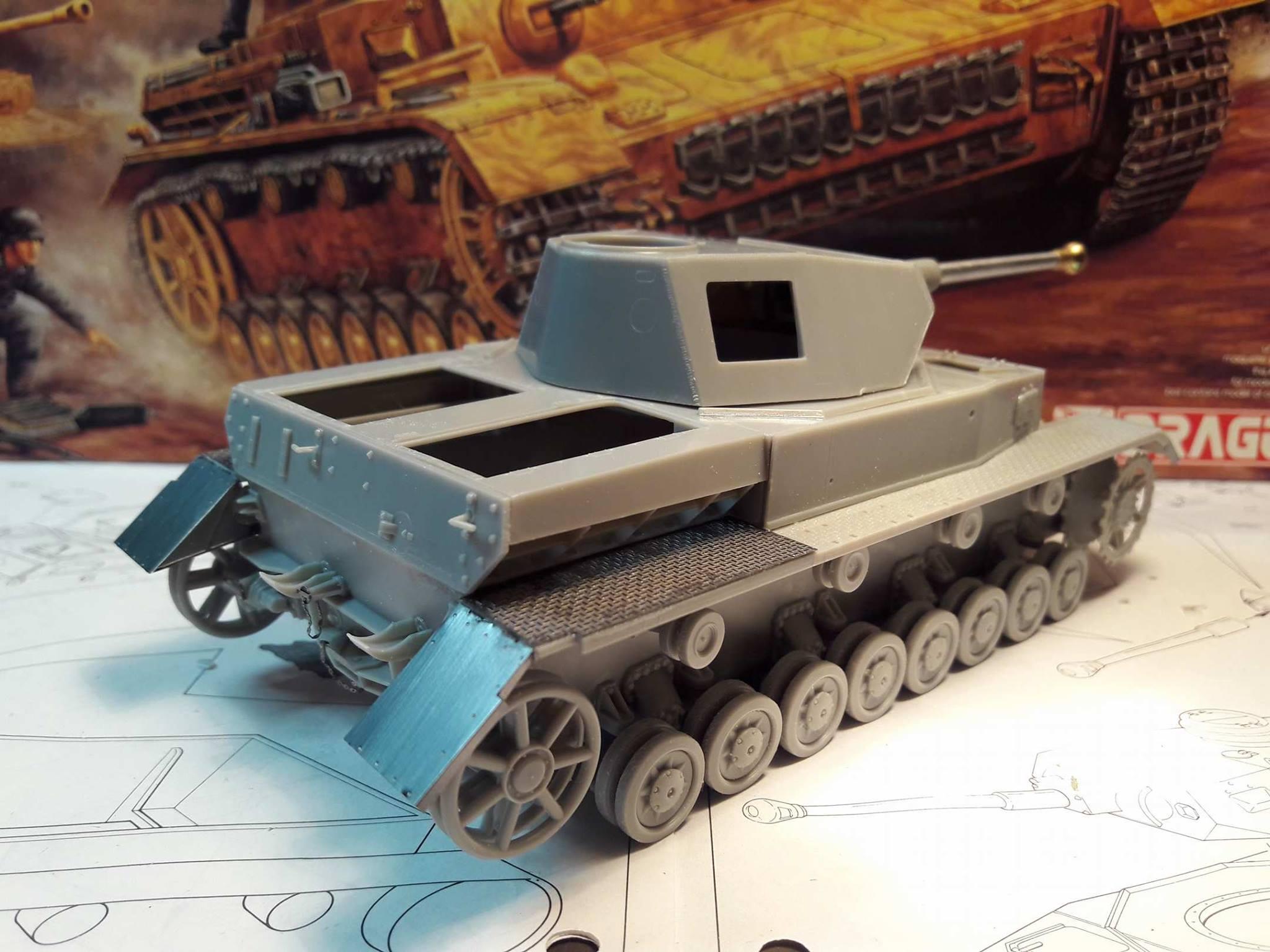 PzKpfw. IV Ausf. F2 - Dragon 6804442112489410212176745308386295487022o
