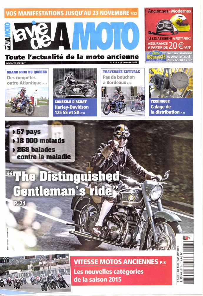 57 pays,18000 motards,258 balades Gentlemans 's ride.... 681506laviemoto