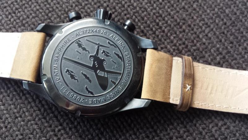 Alpina - ALPINA Startimer Pilot Big Date Chronograph Military  68227620141231124855