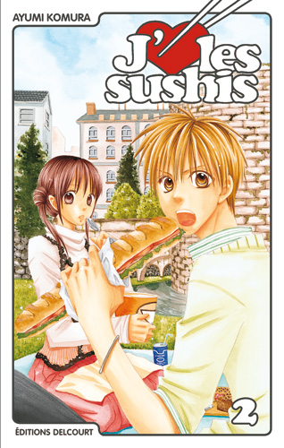 [MANGA] J'♥ les Sushis (Mixed Vegetables) 683594jaimelessushis2delcourt