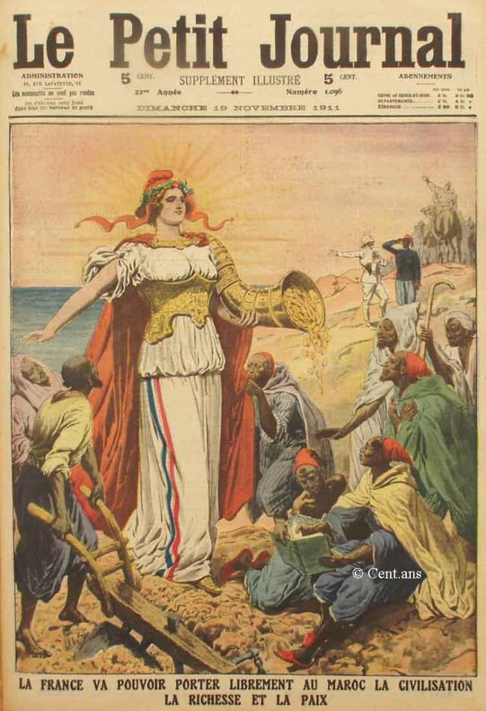 صفحات من تاريخ المغرب الحديث من خلال Le Petit journal illustré 684121pj109619111911