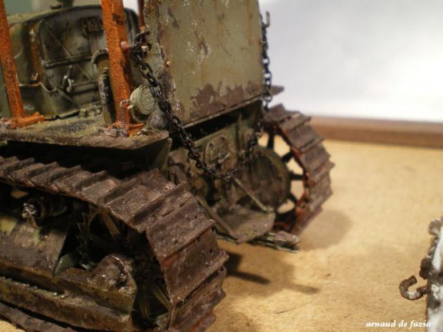 tracteur d artillerie soviétique chtz s-65 version allemande 1/35 trumpeter,tirant 2 blitz de la boue - Page 2 687363IMGP2297