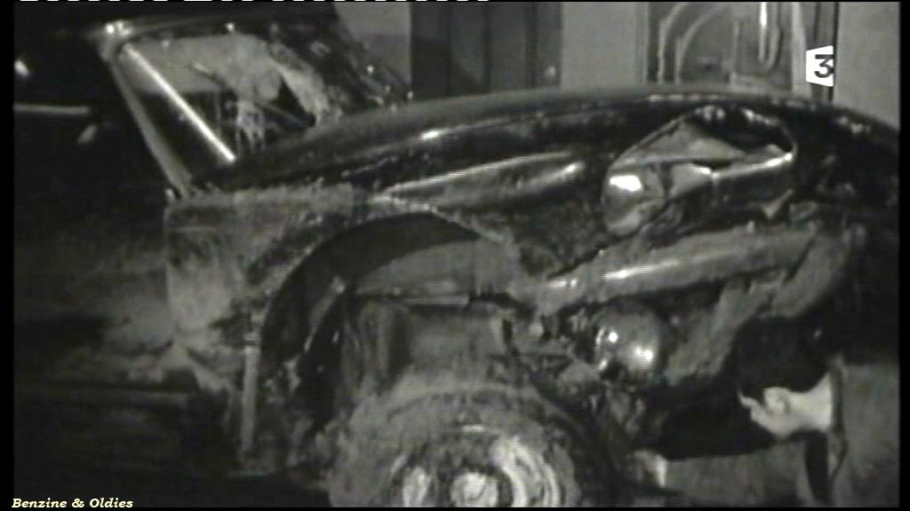 très rares photos de l'accident de Johnny Hallyday et Sylvie Vartan le 20 février 1970 à bord d'une Citroën DS 687563citroendscrashjohnny06