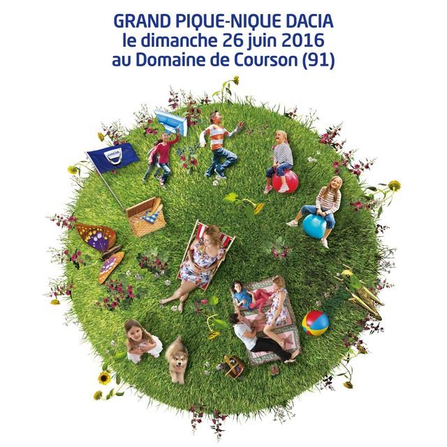 Grand Pique-Nique Dacia 2016 : le rassemblement annuel de la marque accueille Christophe Willem pour un grand concert 6895077748316