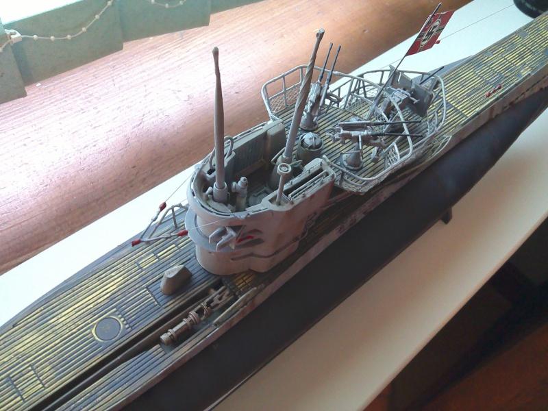 un u 995 1/72 revell pour un ami chantier presque fini 690945IMG20151113155342