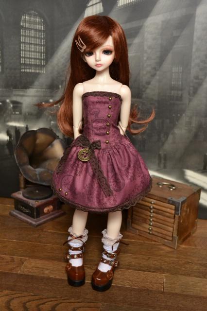 Fairytales Treasures - vêtements par Nekochaton et Kaominy - Page 9 695271ROBEBUSTIERMSDVIOLETTE