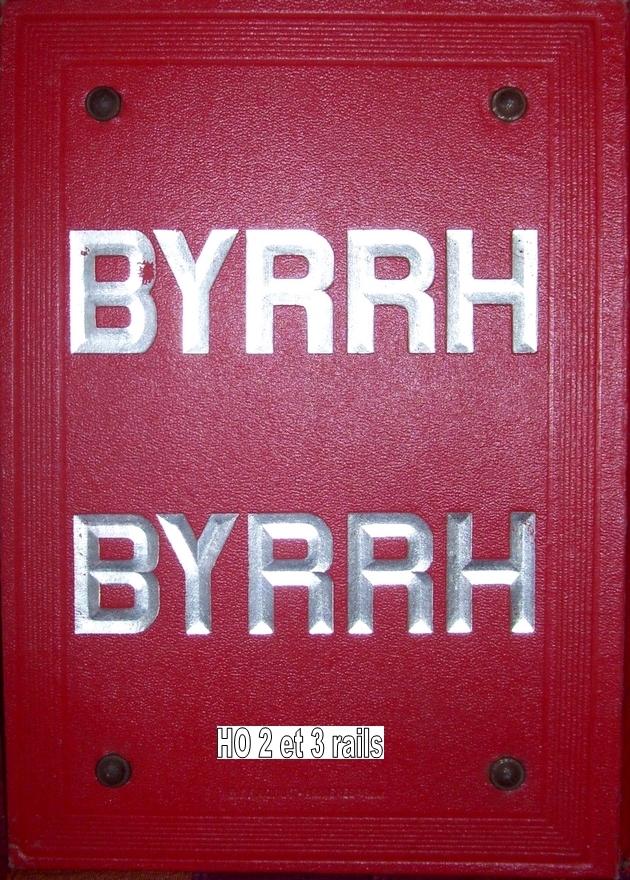 Camion publicitaire Byrrh Les Routiers/les Rouliers 695877Byrrhindicateurdescheminsdefer2630